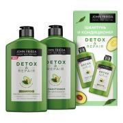 Набор для очищения и восстановления волос Detox & Repair, 250 мл.+ 250 мл.